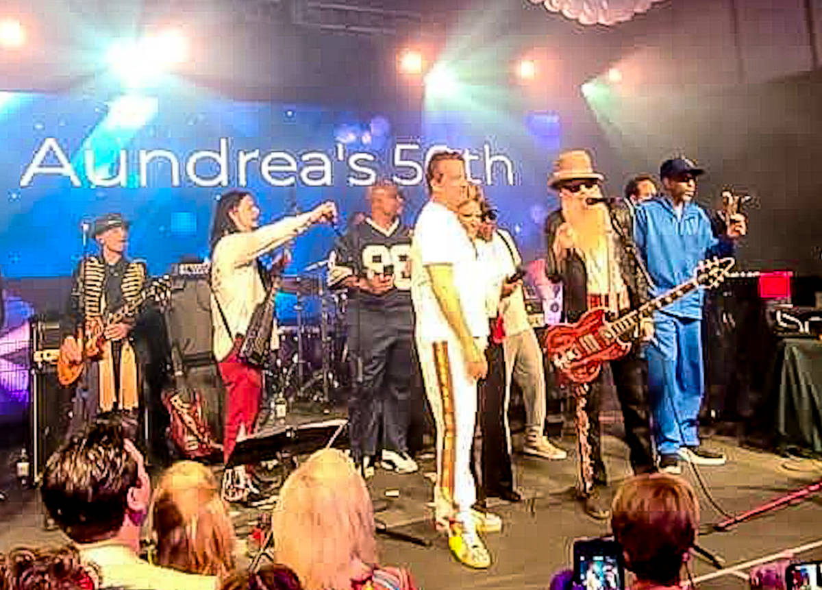 Billy Gibbons and John Payne are shown in the lineup for businessman Dave Strickland's wife, Au ...