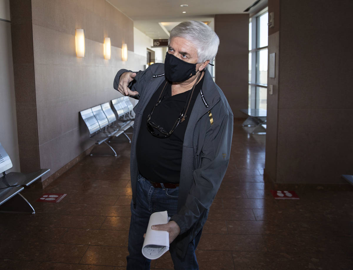Rick Workman, crime scene analyst in the Zane Floyd massacre that left four people dead inside ...