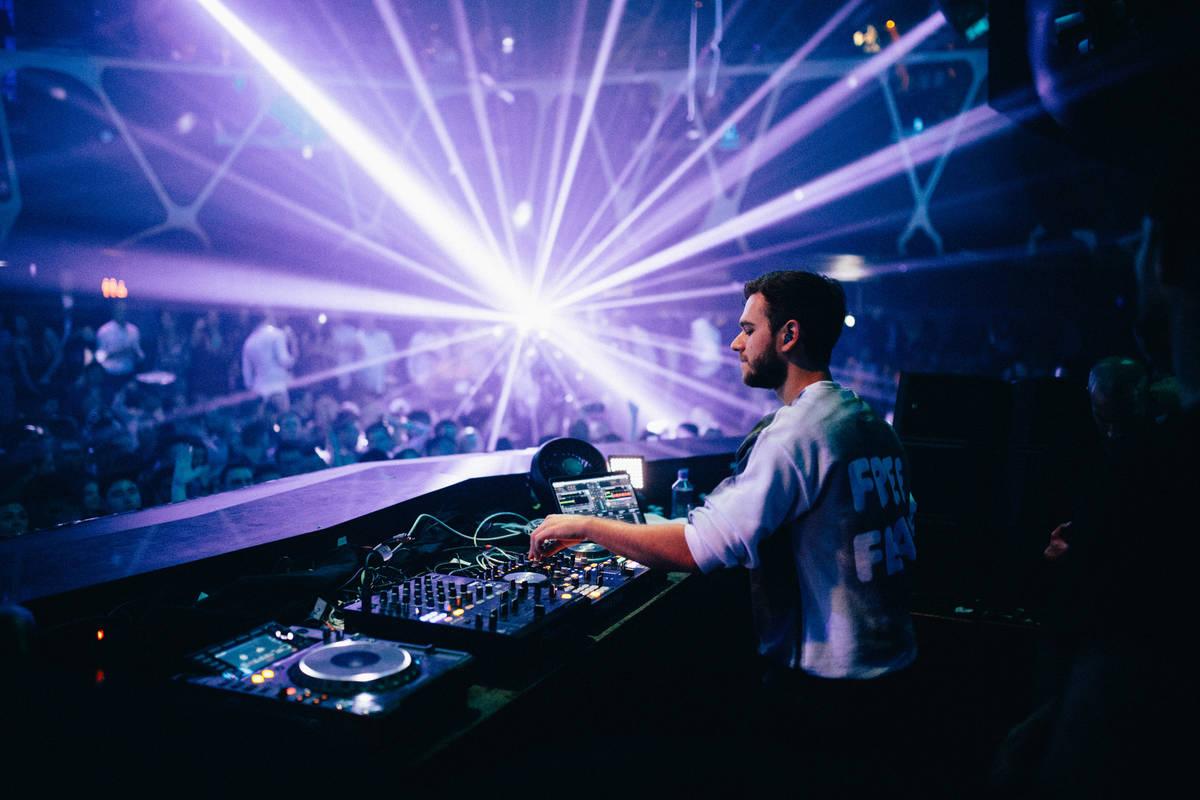 DJ Zedd headlines Hakkasan at MGM Grand on Friday, April 7, 2017, in Las Vegas. (Joe Janet)
