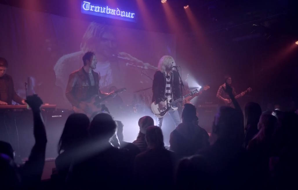 """A screen grab of """"27"""" at the Viper Room in West Hollywood, Calif., on March 10, 2021. (27show.com)"""