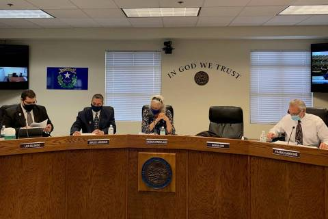 Nye County Commission (Special to the Las Vegas Review-Journal)