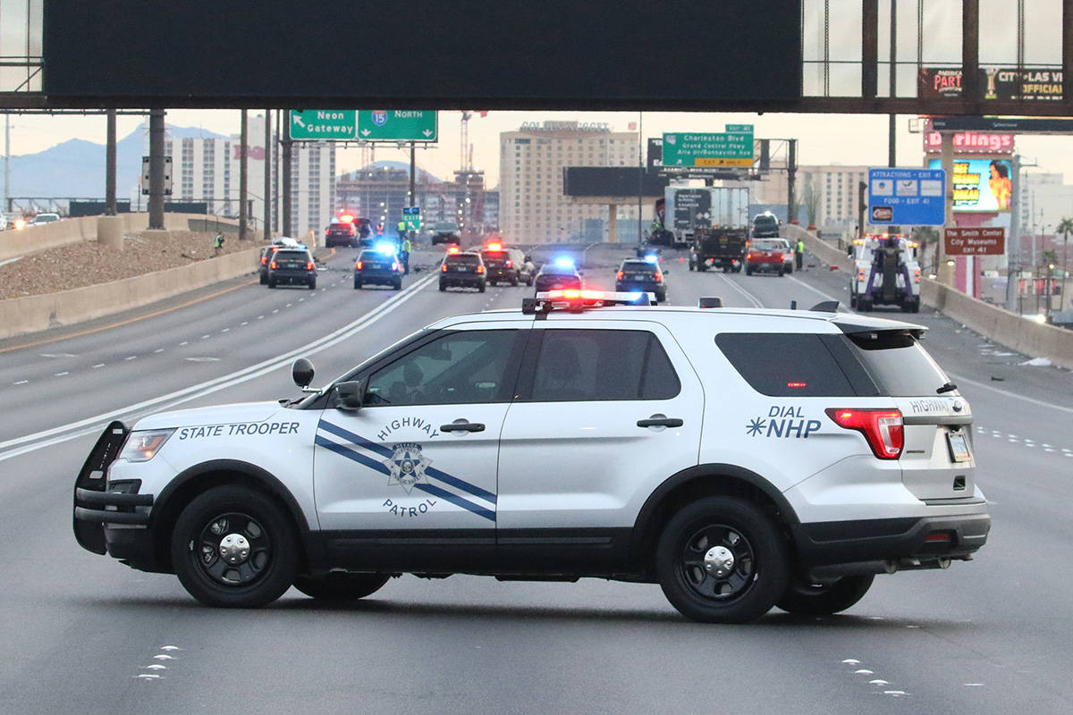 The Nevada Highway Patrol is investigating after a wrong-way driver was killed on northbound In ...