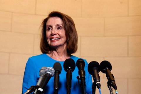 House Speaker Nancy Pelosi, D-Calif. (AP Photo/Carolyn Kaster)