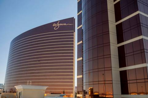 Wynn Las Vegas and Encore along the Las Vegas Strip. (Las Vegas Review-Journal)