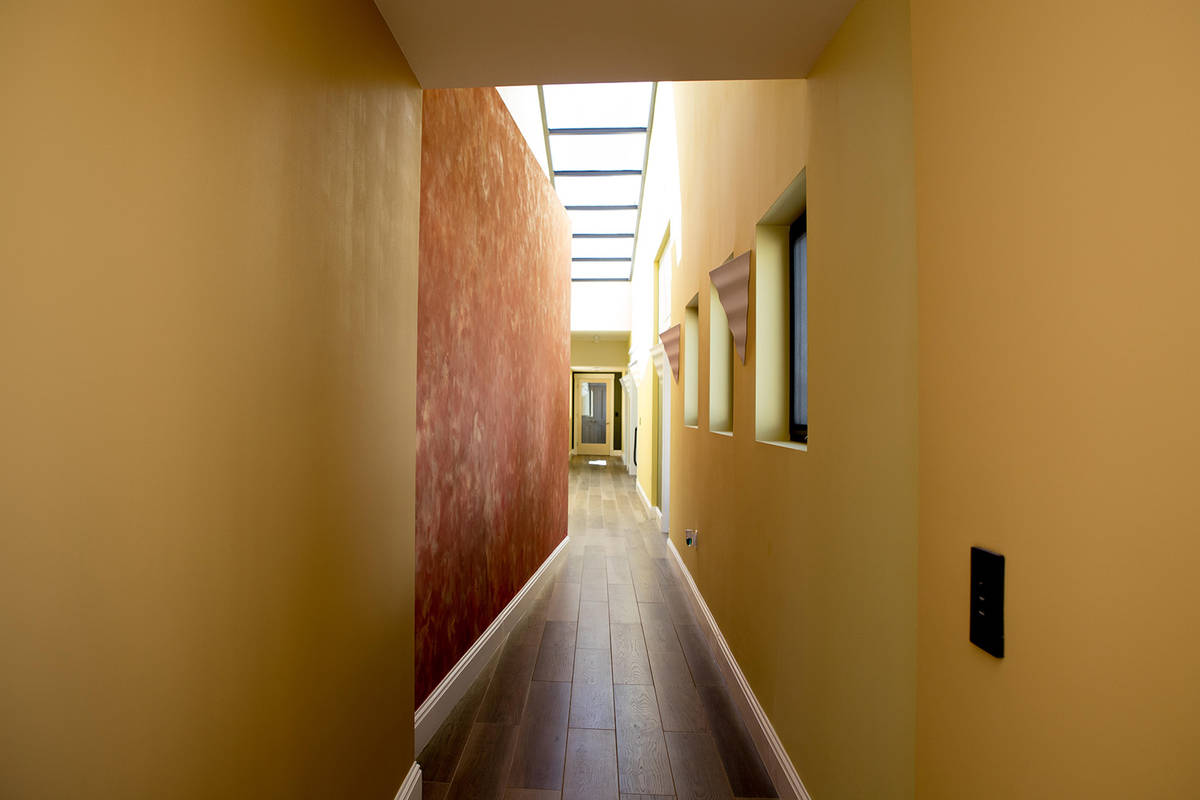 Hallways lead to secret rooms. (Tonya Harvey Real Estate Millions)
