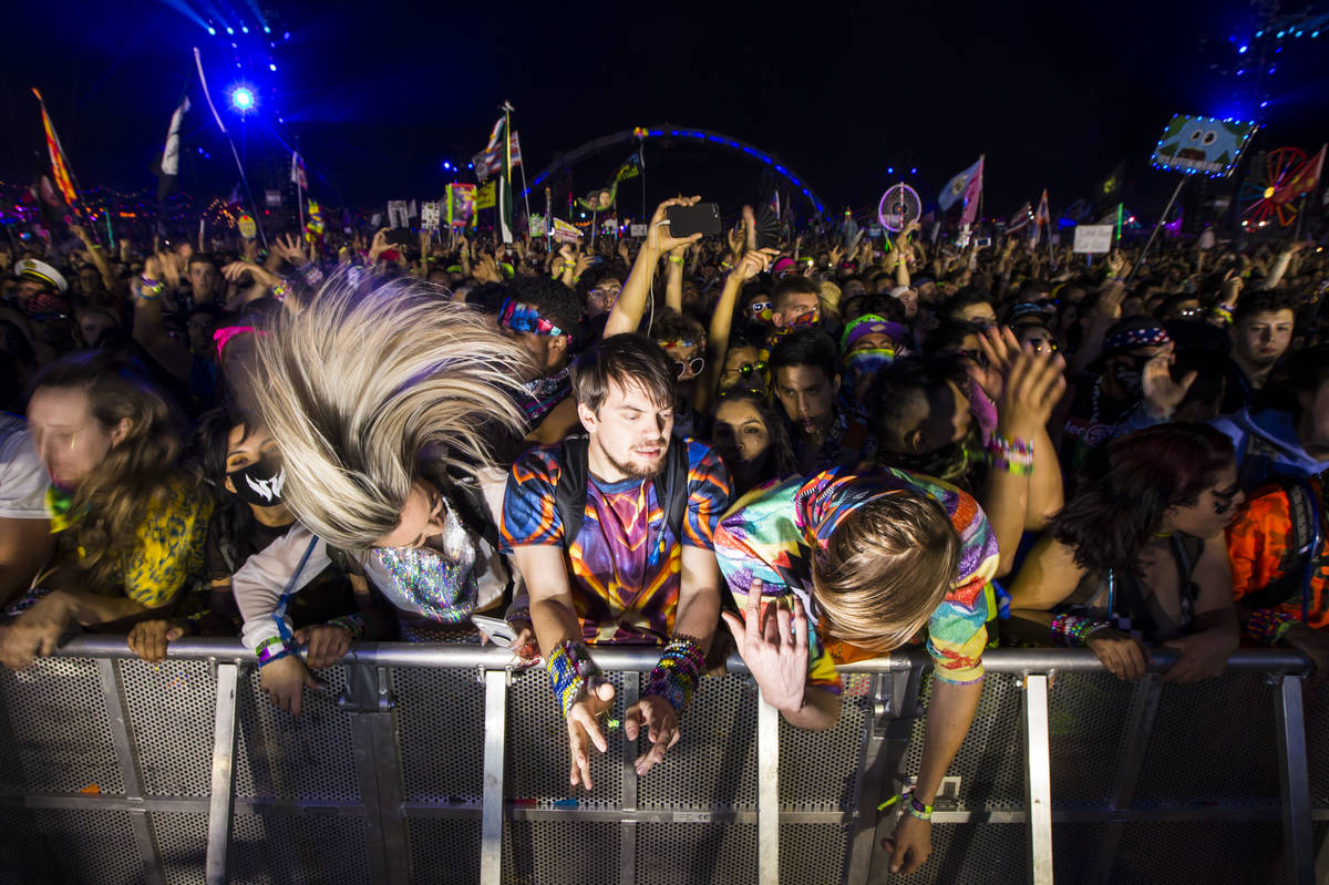 EDC to take place in May, with new safety measures - Las Vegas Review-Journal