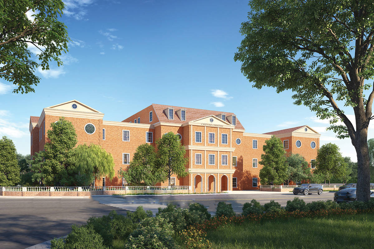 A rendering of Capstone Christian Academy Cactus Campus (Courtesy)