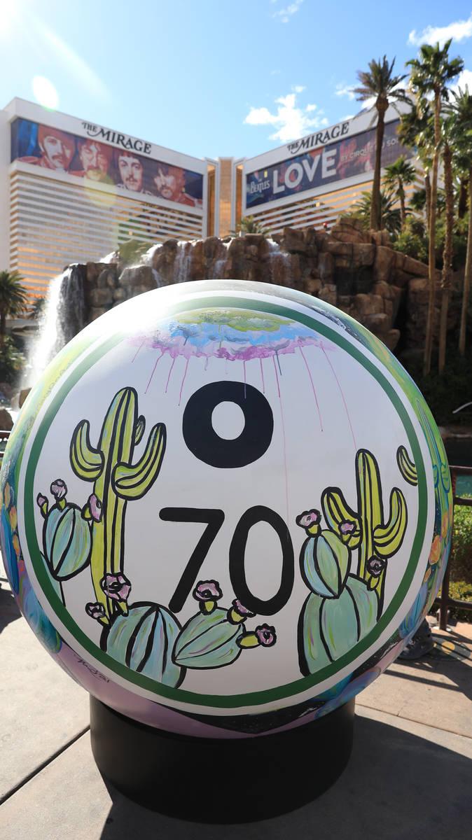Mary Felker's spherical sculpture (Five Stars Creative)