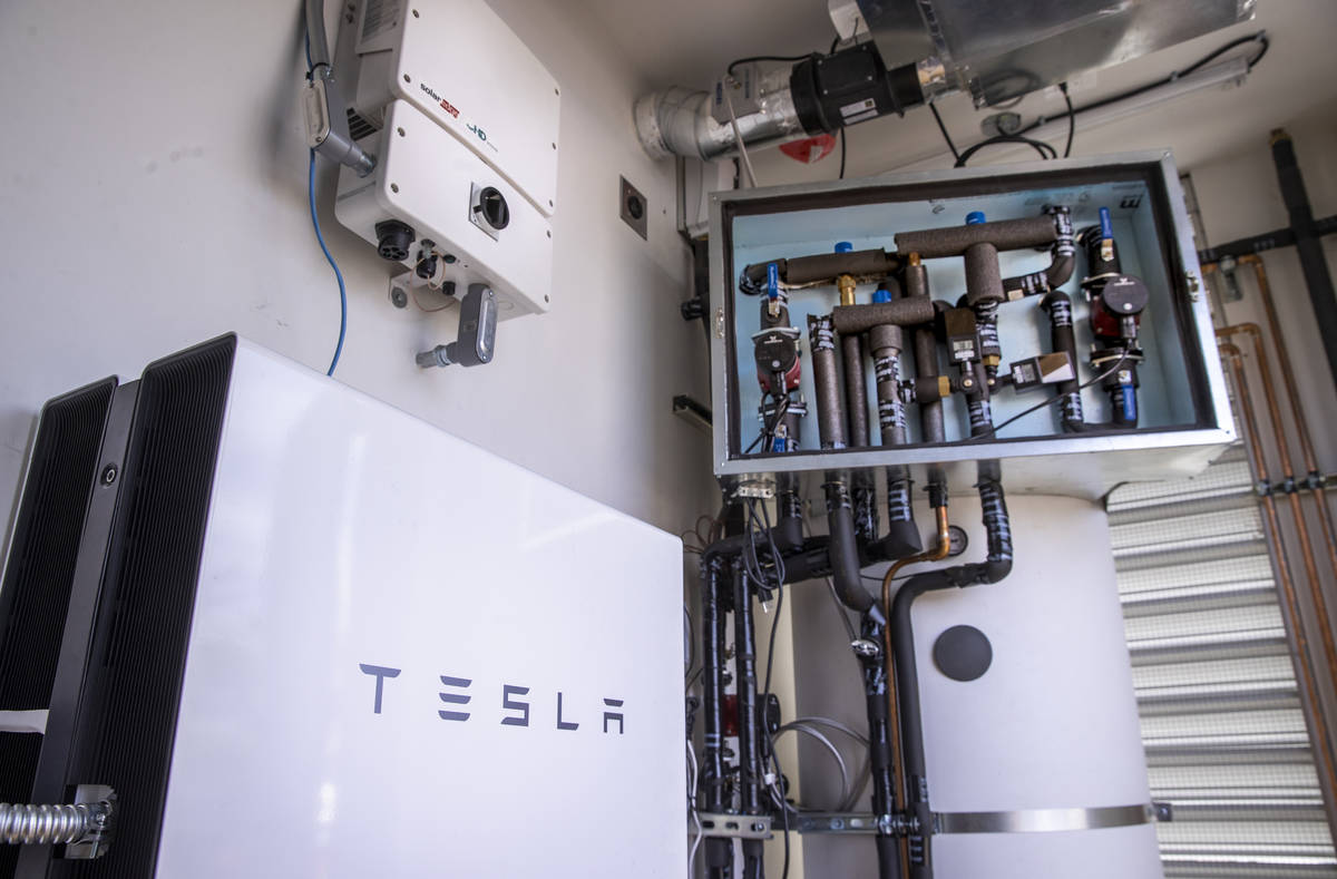 Two Tesla batteries are amongst the special features within as a UNLV team readies to compete n ...