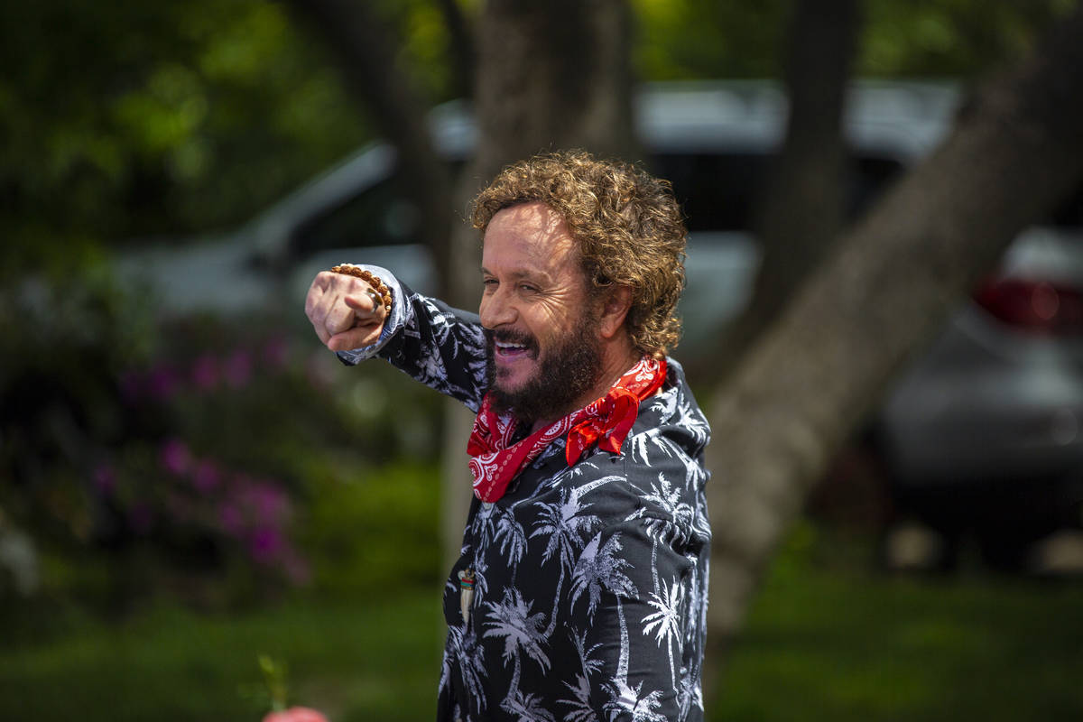 """Pauly Shore is shown as Randy Cockfield in a scene from """"Guest House,"""" which was released on di ..."""