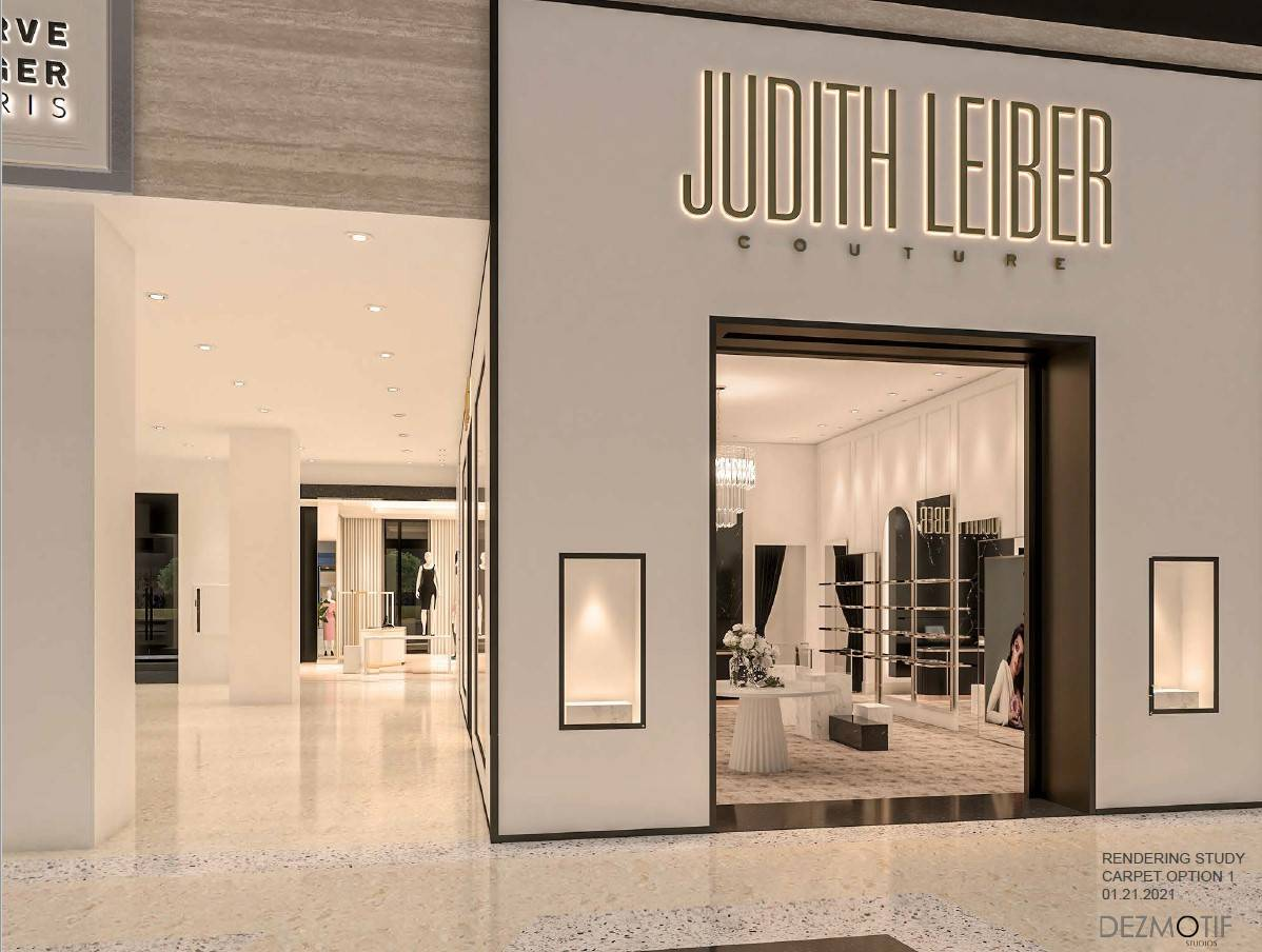 A rendering of Judith Leiber's location planned to open this summer at Resorts World Las Vegas. ...