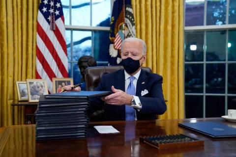President Joe Biden. (AP Photo/Evan Vucci, File)