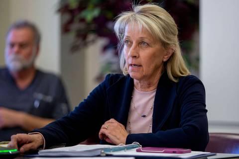 Nevada Secretary of State Barbara Cegavske on Monday, Aug. 17, 2020. (Las Vegas Review-Journal, ...