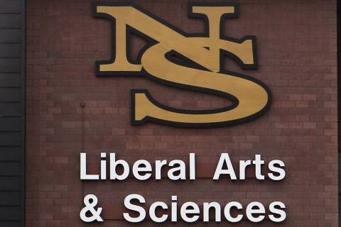 The Liberal Arts and Science building is seen at the Nevada State College in Henderson. (Las Ve ...