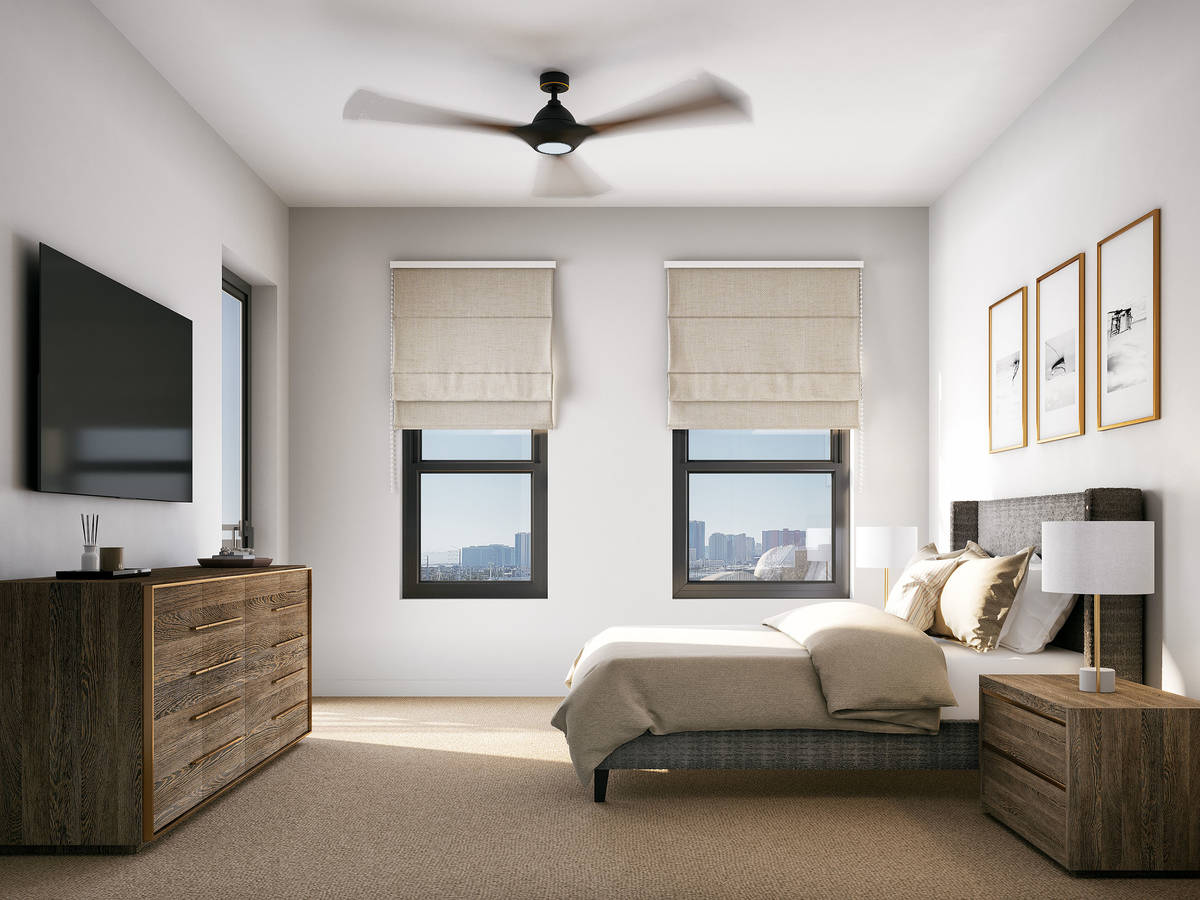 Auric Symphony Park, a new luxury mid-rise apartment community, is opening at Symphony Park in ...