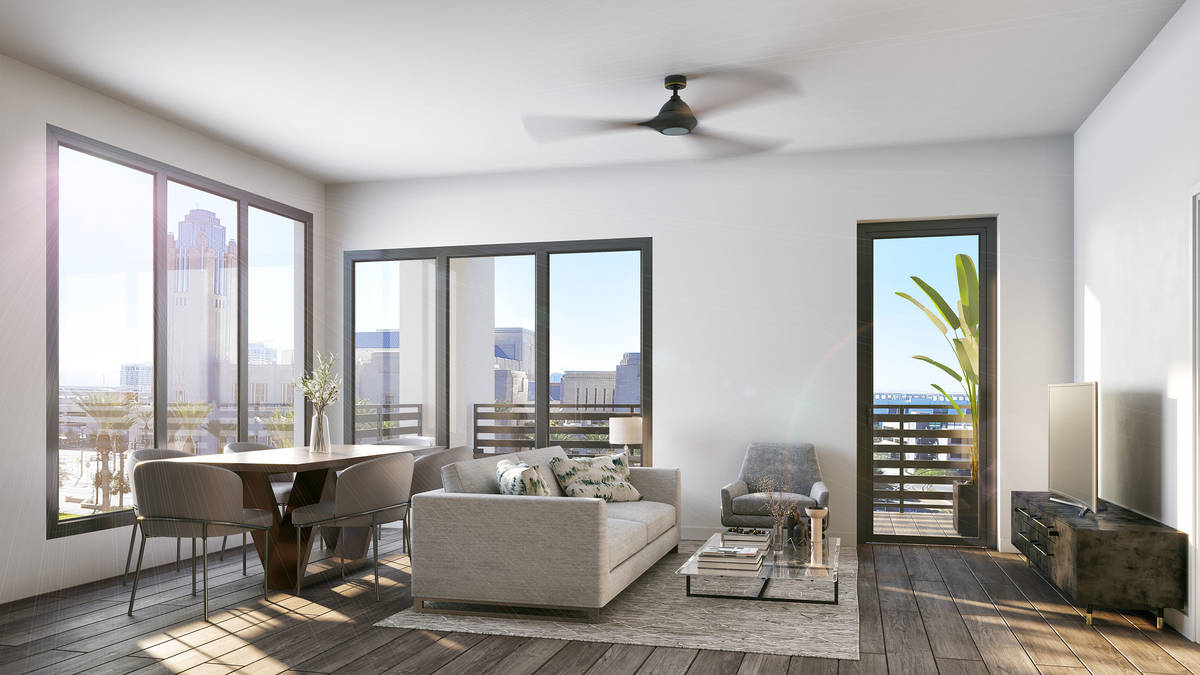 Auric Symphony Park Southern Land Co., is opening Auric Symphony Park, a new luxury mid-rise ap ...