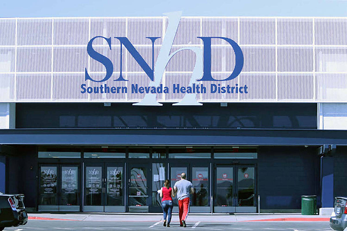 Southern Nevada Health District offices (Las Vegas Review-Journal)