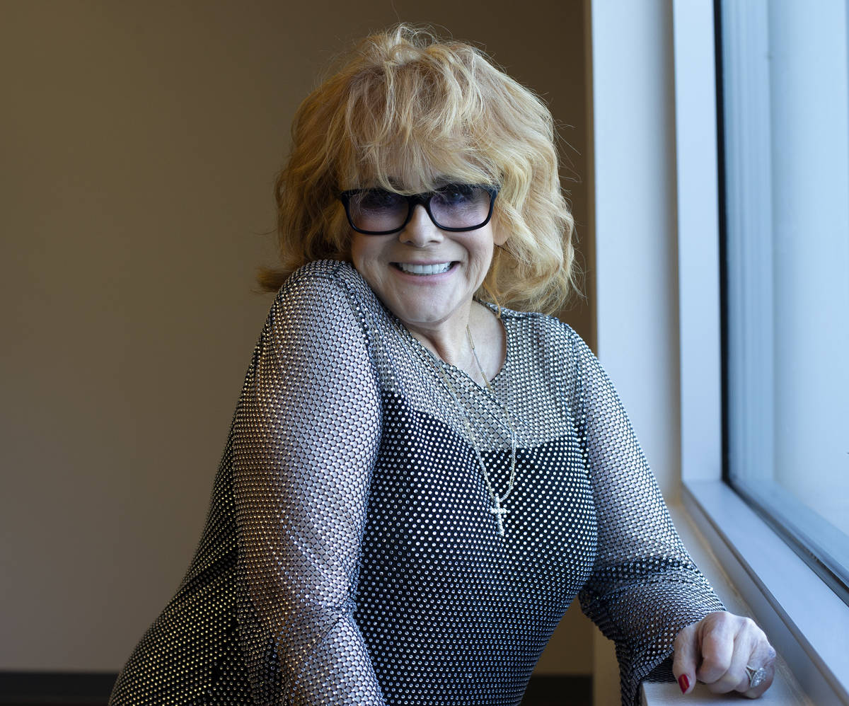 Actress and Hollywood legend Ann-Margret before being inducted into the UNLV College of Fine Ar ...