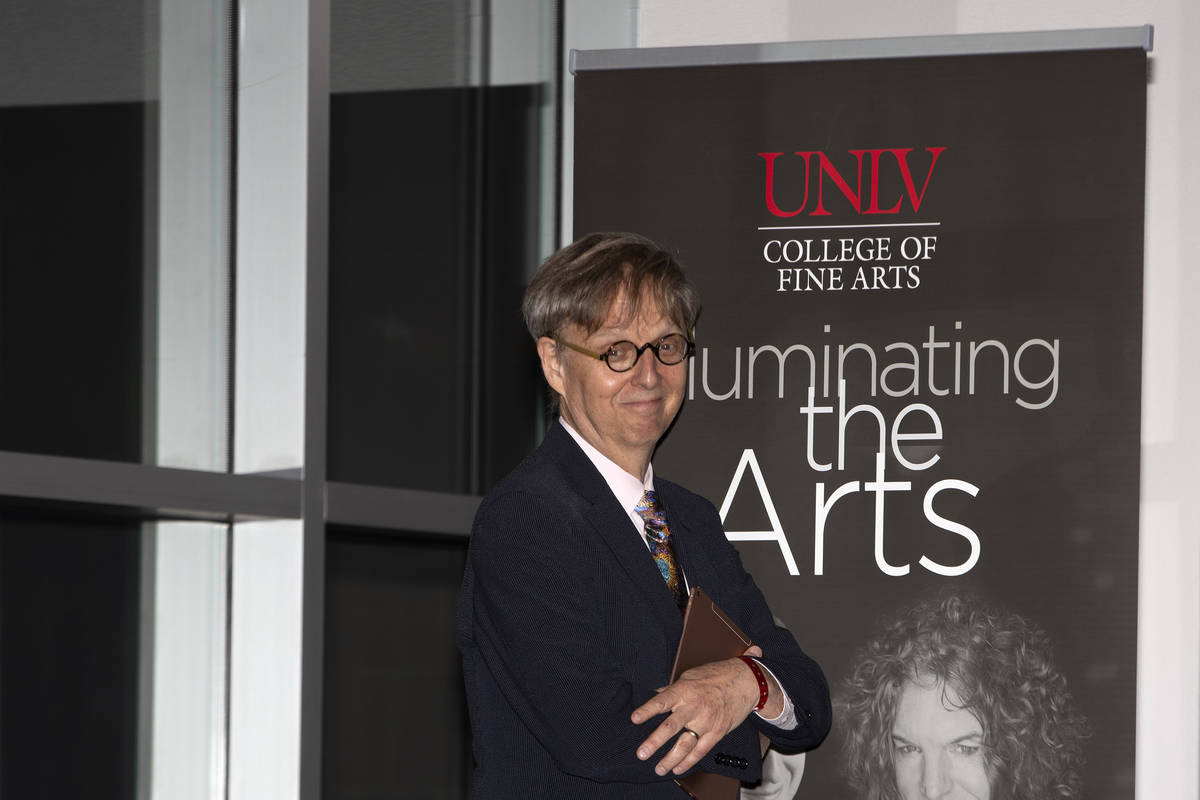 Mac King, a comedic magician and long-standing Las Vegas performer, is inducted into the 2020 U ...
