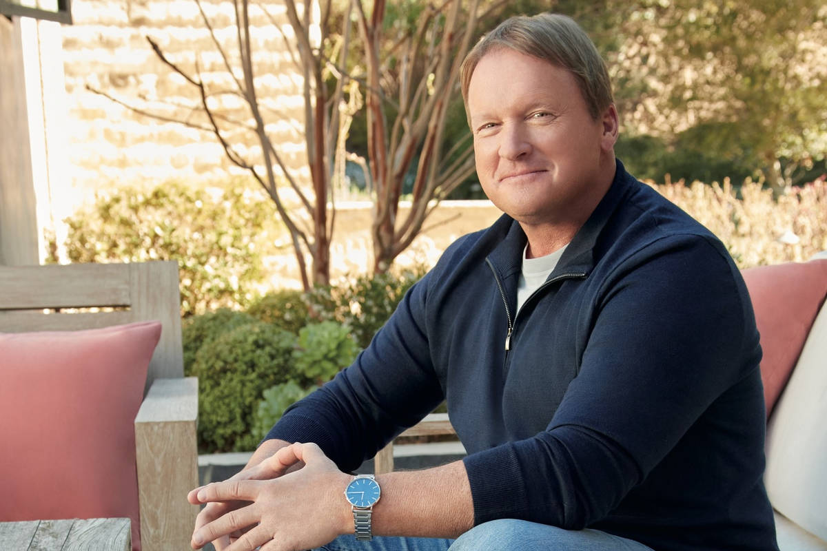Raiders coach Jon Gruden appears in new ads for Skechers Arch Fit. Photo courtesy of the Ketchu ...