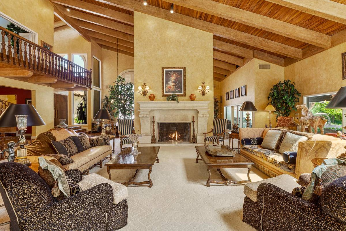 A view of the living room. (Fraser Almeida/Luxury Homes Photography)