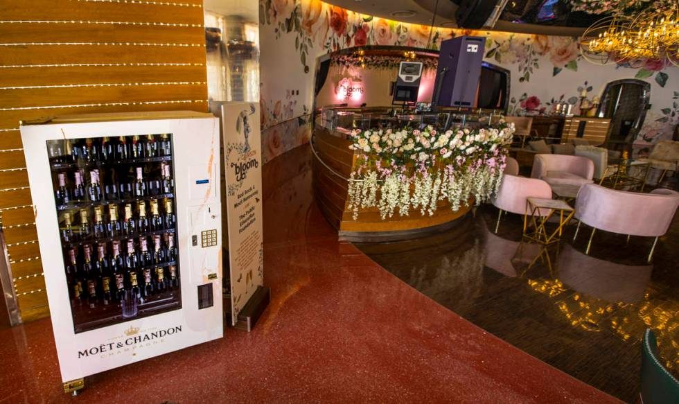 Stop by the Moet & Chandon vending machine to purchase 187 ml bottles of Moet & Chandon Brut Im ...