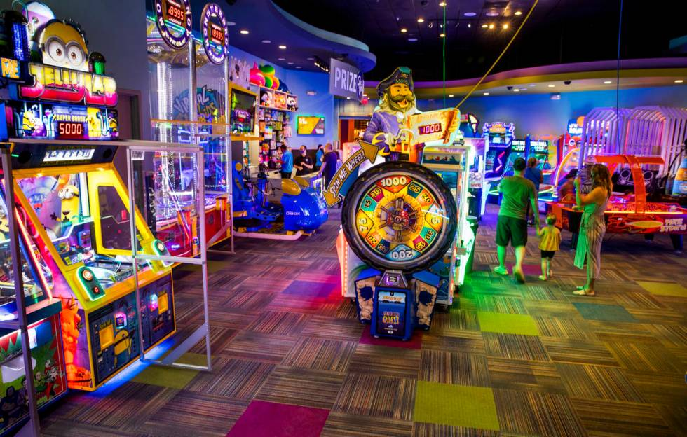 Cyber Quest offers a variety of games including classic Skee Ball within the Red Rock Resort. ( ...