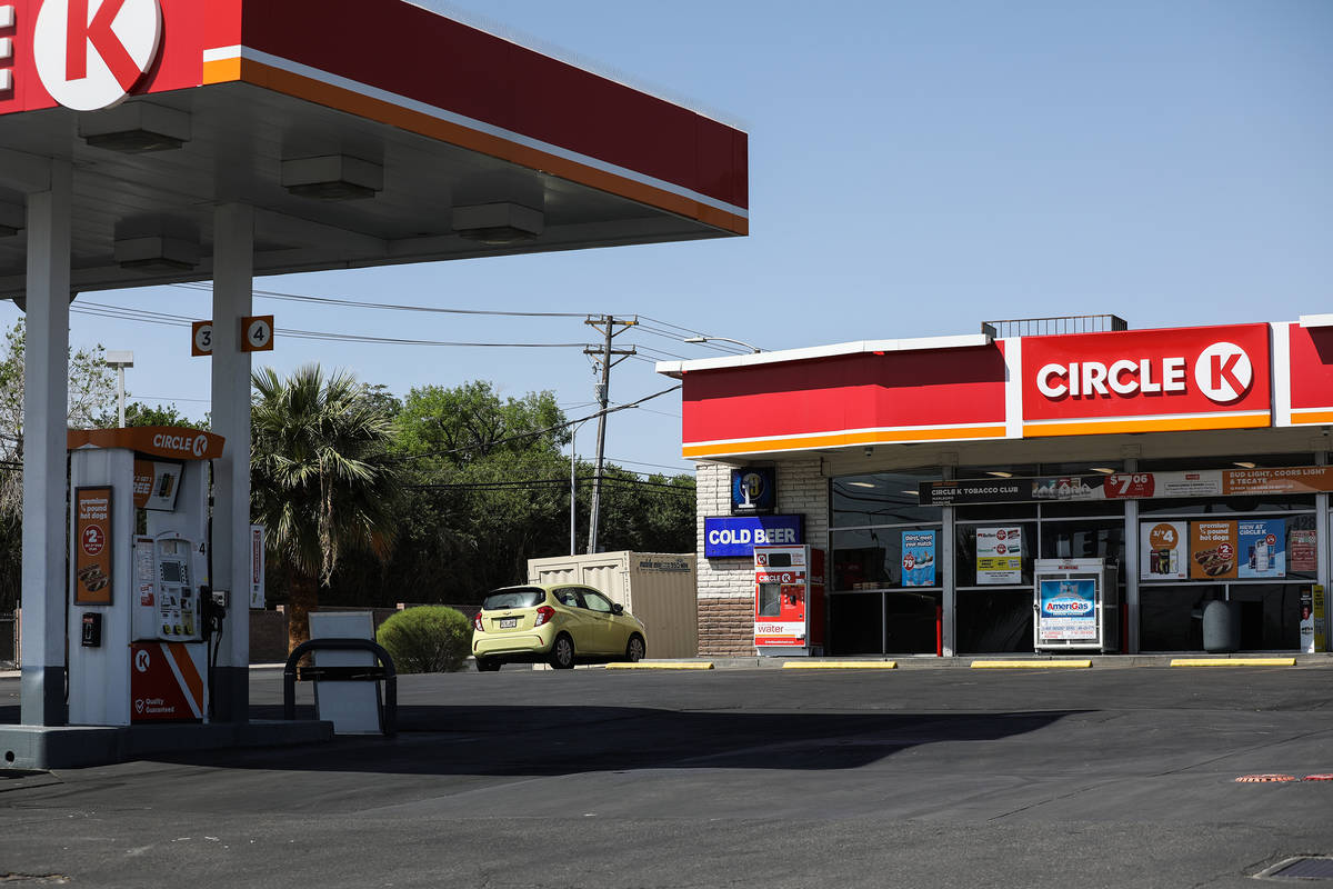 The Circle K where Kashif Brown, a 24-year-old father of three, was killed on March 22 while pu ...