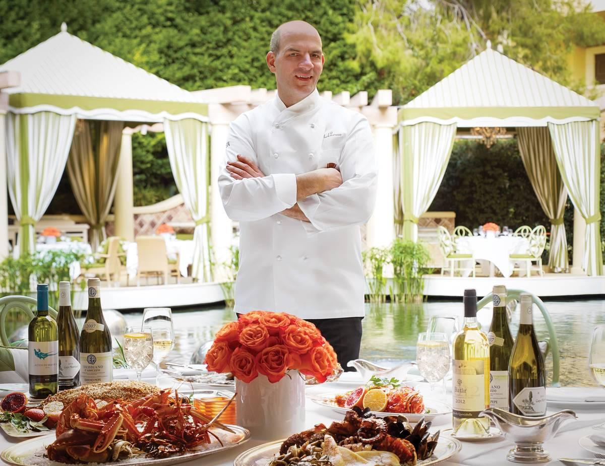Mark LoRusso is executive chef of Costa di Mare at Wynn Las Vegas. (Barbara Kraft)