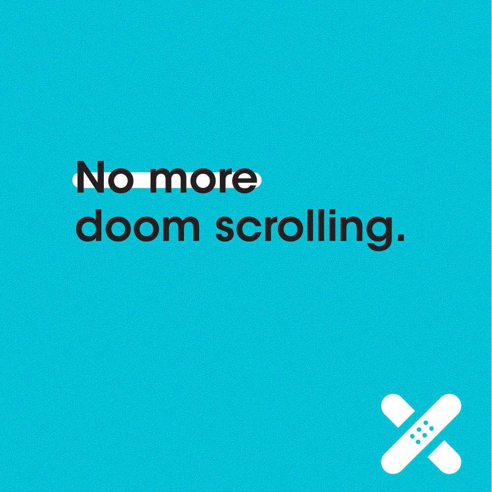 An example of the #NoMoreCOVID campaign's social media messaging. (Courtesy, R&R Partners)