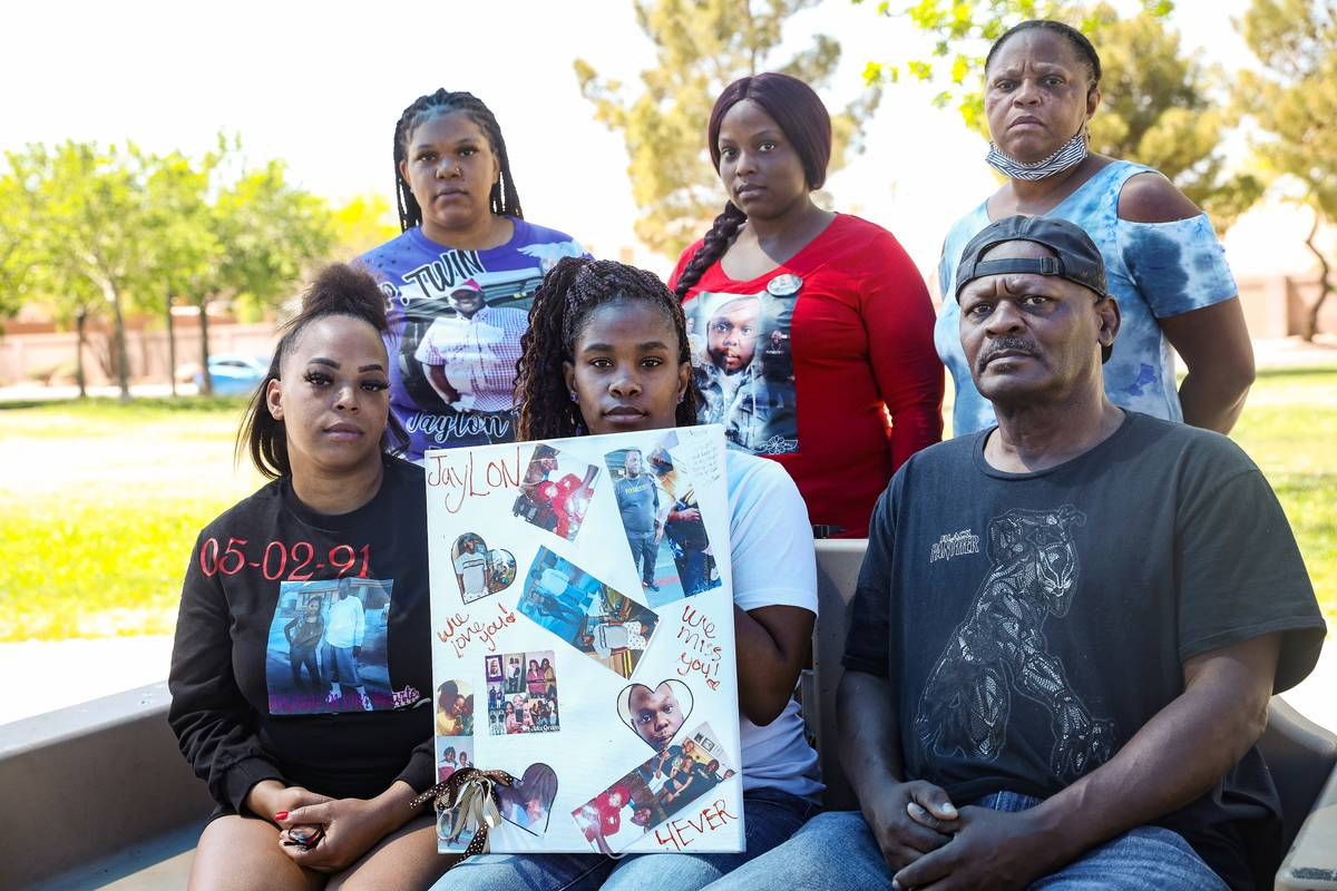 The family of Jaylon Tiffith, who was killed after he dropped off his daughter at the mother's ...
