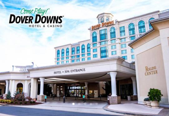 The Dover Downs hote-casino in Delaware. (Courtesy, Bally's Corp.)