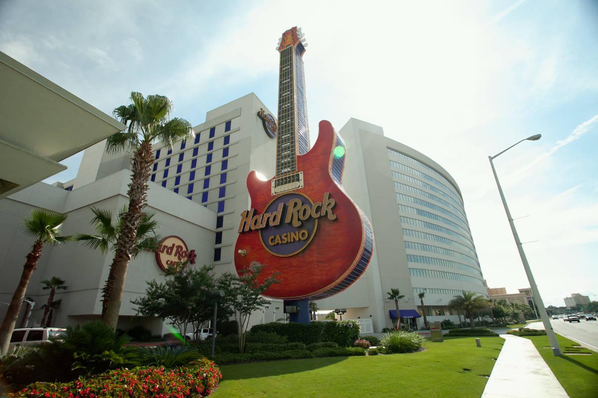The Hard Rock Hotel & Casino Biloxi in Mississippi. (Courtesy, Bally's Corp.)