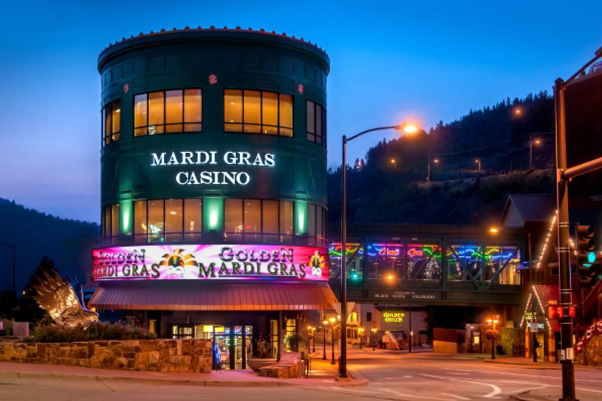 The Mardi Gras Casino in Black Hawk, Colorado. (Courtesy, Bally's Corp.)