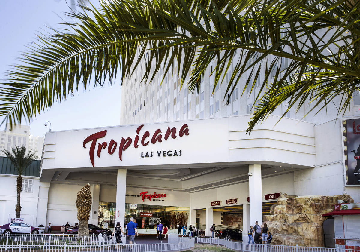 Rhode Island-based Bally's Corp. has agreed to purchase the Tropicana in Las Vegas from Gaming ...