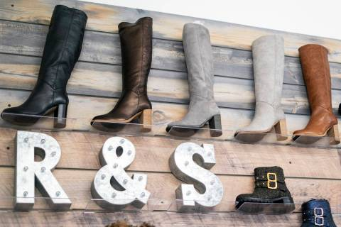 Ross & Snow footwear seen in this Sept. 10, 2018, file photo. (Las Vegas Review-Journal)