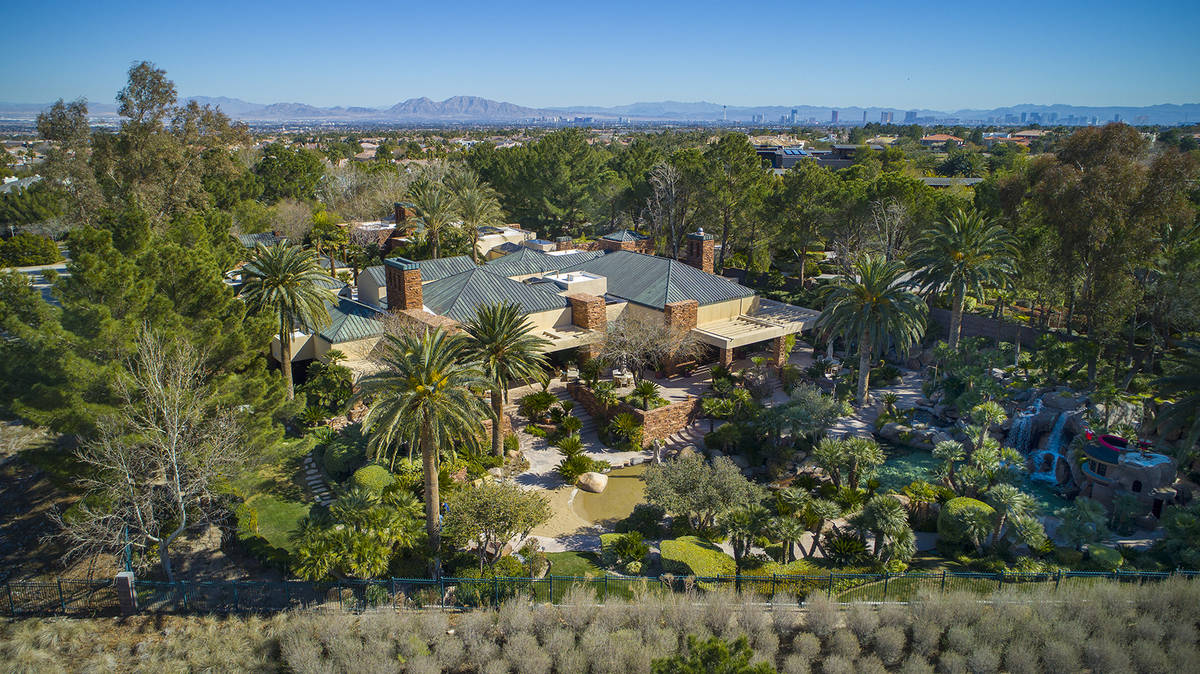 """The mansion is on Enclave Court and is called """"Billionaires Row."""" The area is known for its ..."""