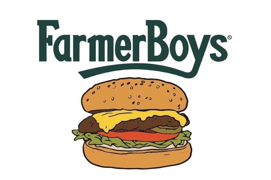 A tattoo choice for Farmer Boys' free-burger contest. (Farmer Boys)