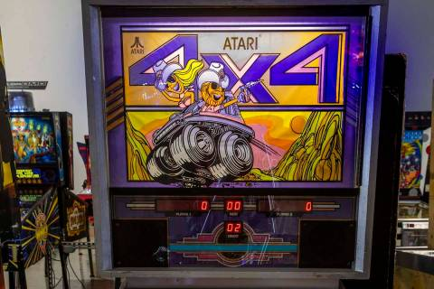 One of two ever made, Atari 4x4 pinball is a rare prototype game that you likely will only find ...