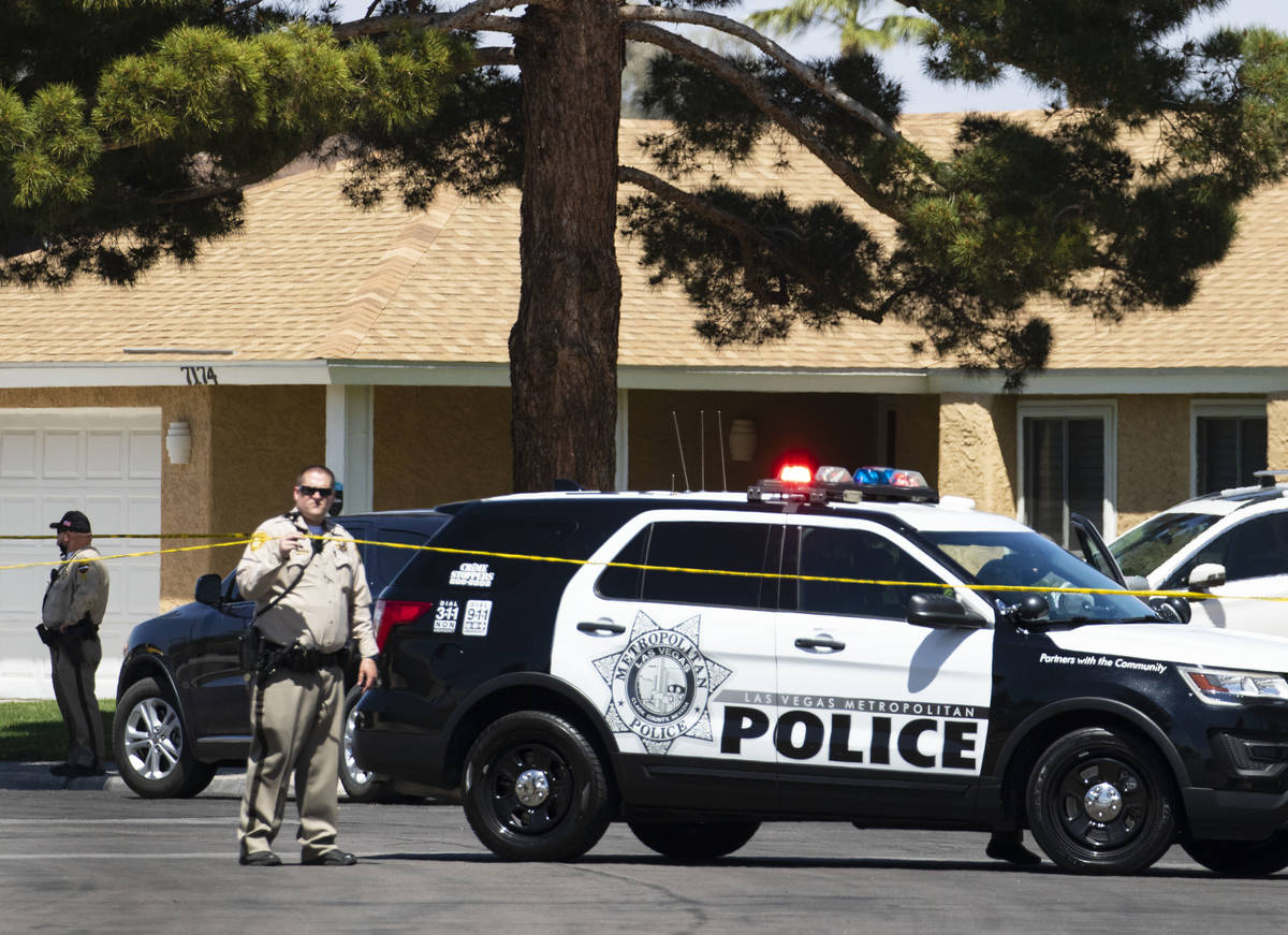 The Metropolitan Police Department investigated a barricade situation in the 7200 block of Ding ...