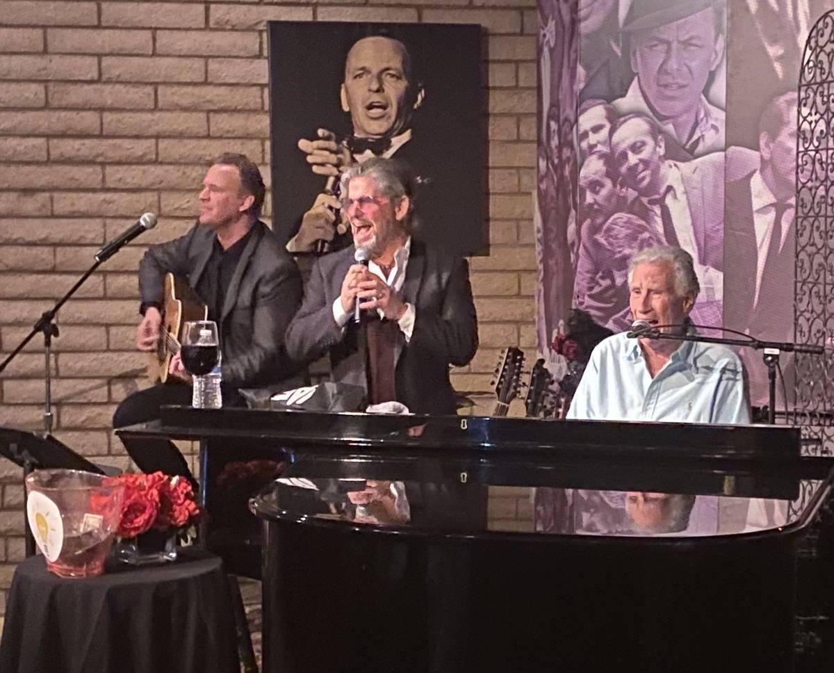 John Wedemeyer, Bucky Heard and Bill Medley perform at Italian American Club on Saturday, April ...