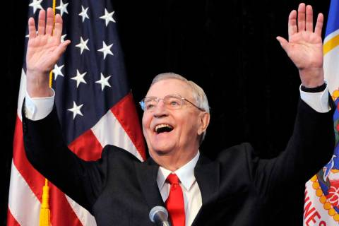 In an Oct. 30, 2012, file photo, former Vice President Walter Mondale, a former Minnesota senat ...