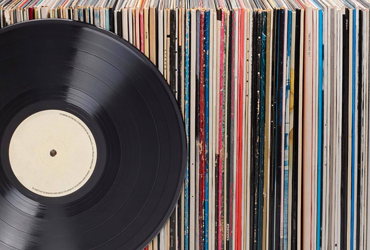 """""""Records don't compare to coins and stamps and books,"""" said Doug Allen, owner of Banana R ..."""