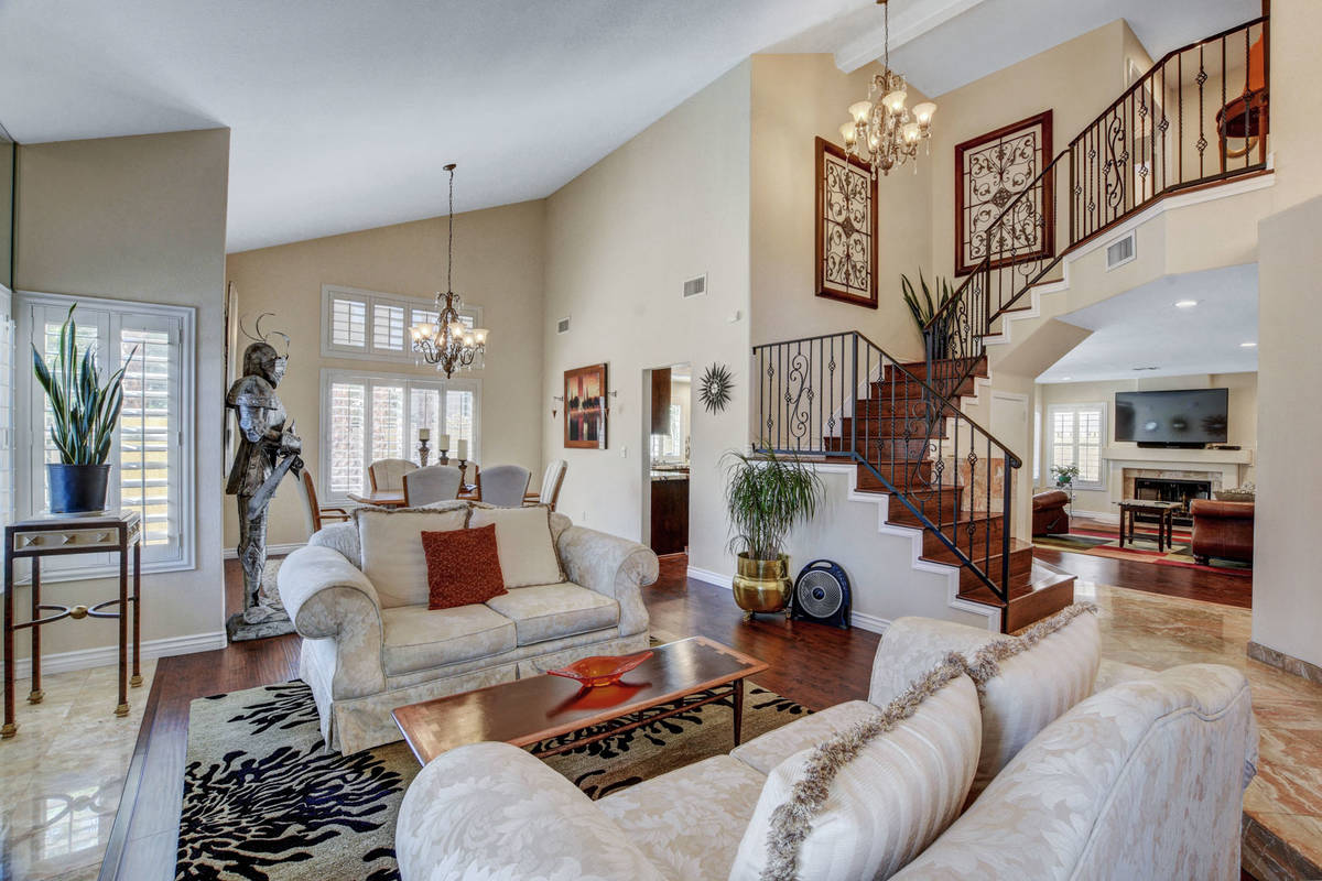 A view of the interior of 8847 Pacific Bay Lane. (Wild Dog Digital)