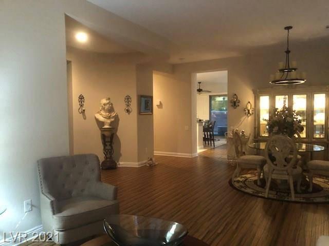 The dining room of 3909 Fledgling Drive in North Las Vegas (Jeffrey L. Prenger)