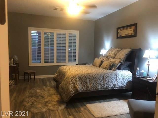 A bedroom at 3909 Fledgling Drive in North Las Vegas (Jeffrey L. Prenger)