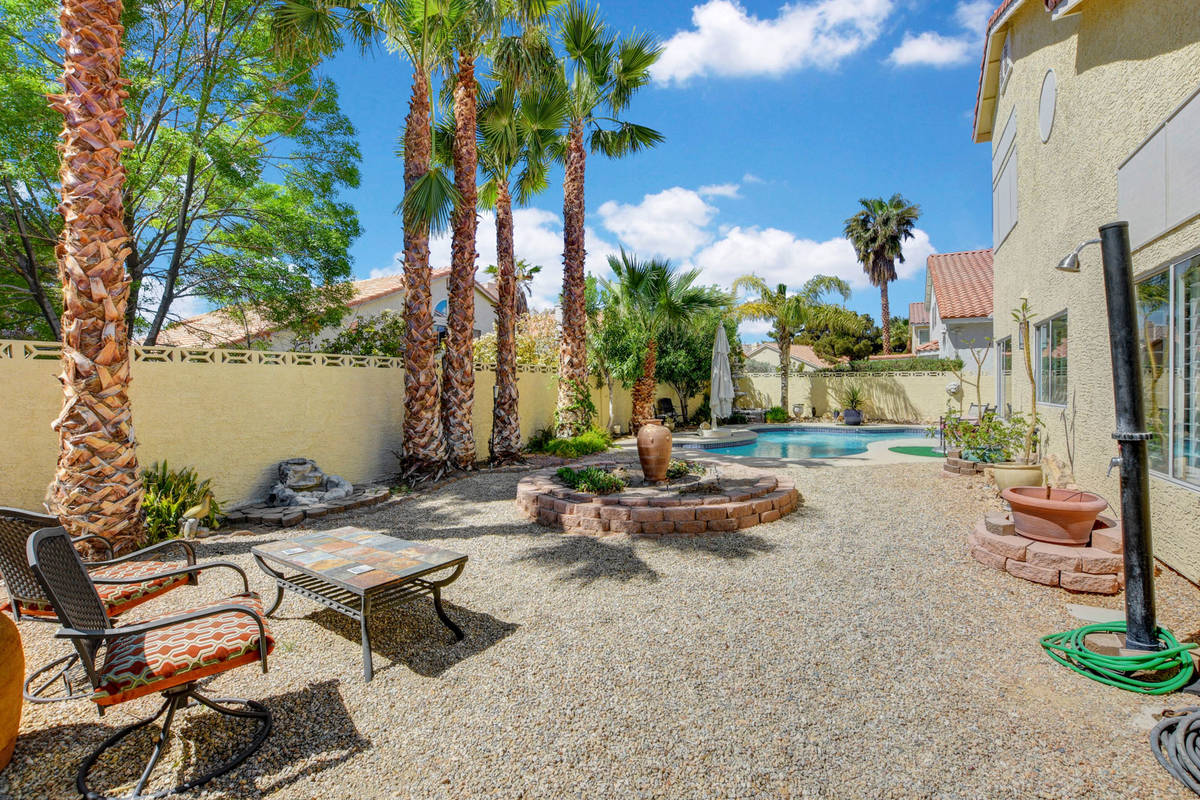The pool area at 8847 Pacific Bay Lane. (Wild Dog Digital)