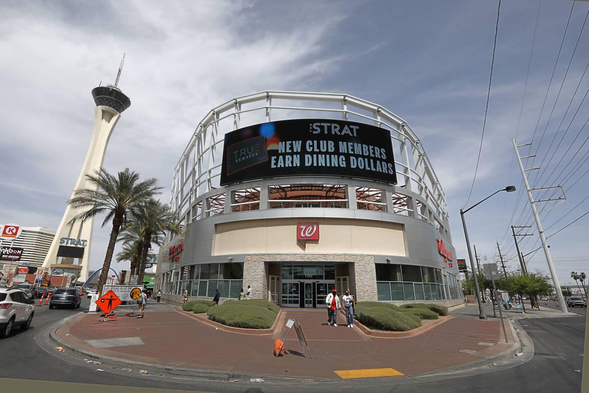 Walgreens is seen at 2427 Las Vegas Blvd., South in Las Vegas, Tuesday, April 20, 2021. (Chitos ...