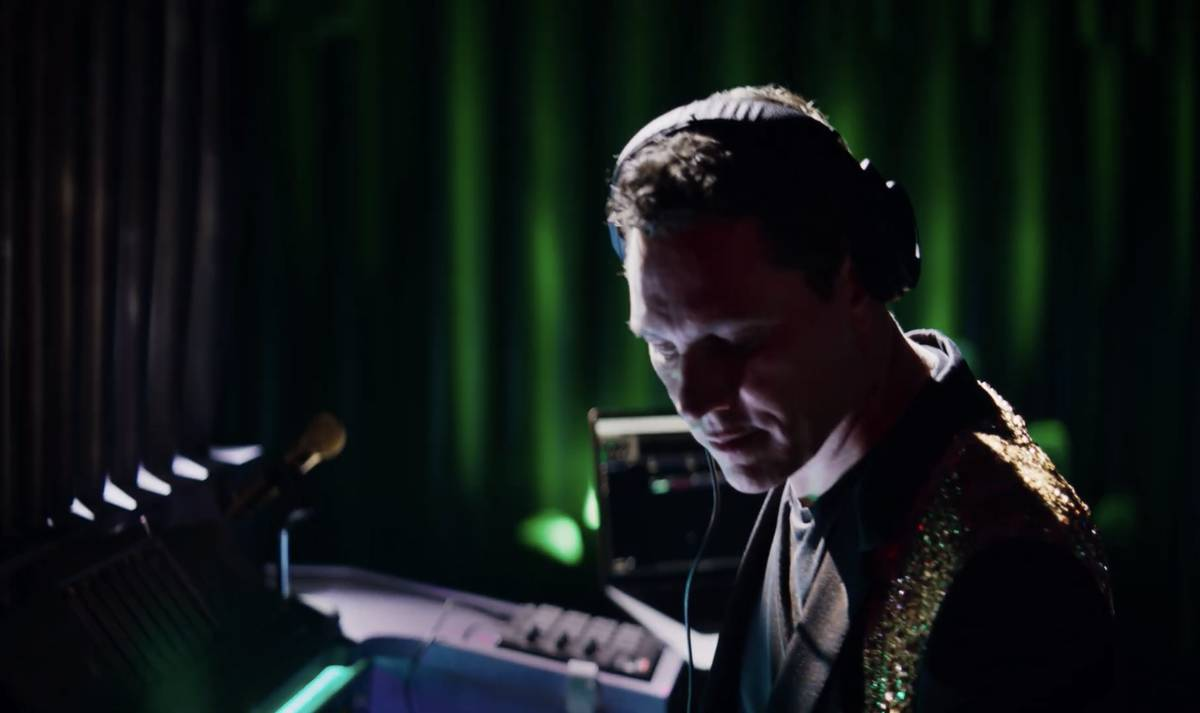 """A screen grab of Tiësto is shown in Resorts Worlds Las Vegas' new commercial, """"Stay Fabulous,"""" ..."""