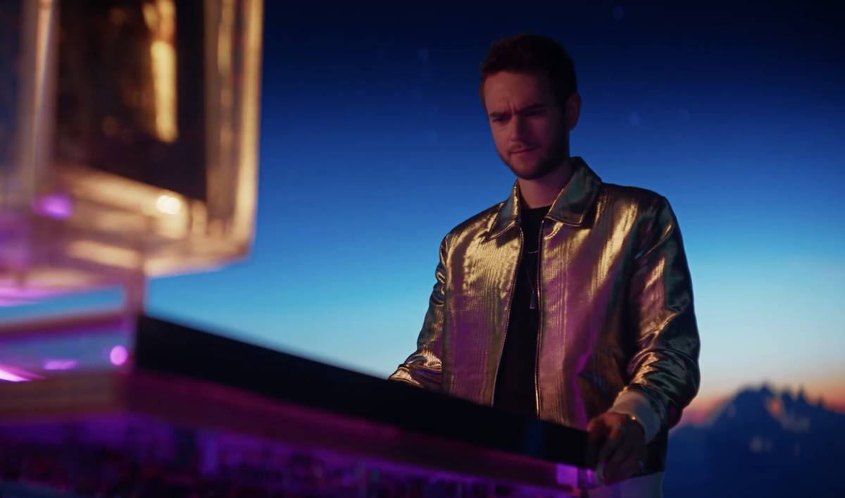 "A screen grab of Zedd is shown in Resorts Worlds Las Vegas' new commercial, ""Stay Fabulous,"" pr ..."